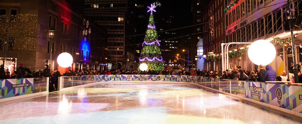 South Street Seaport Ice Rink