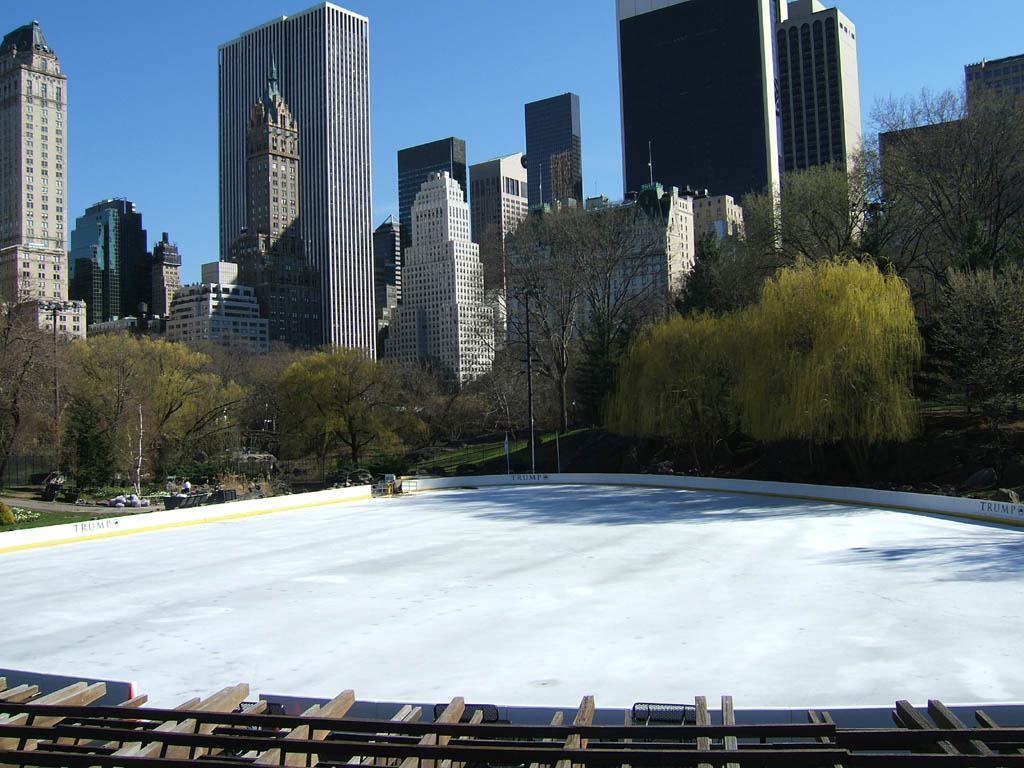 Trump Rink in Central Park