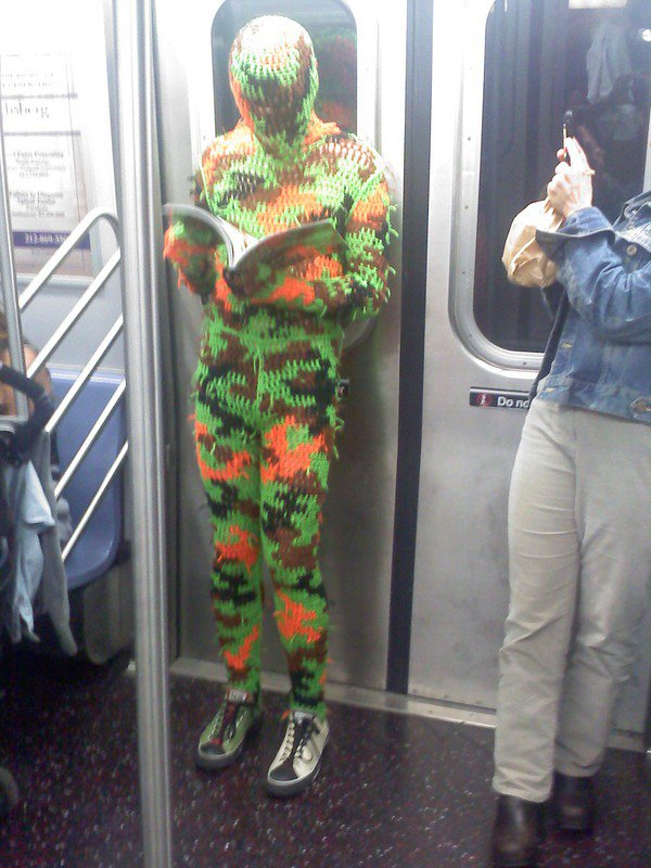 15 People You will See on the NYC Subway